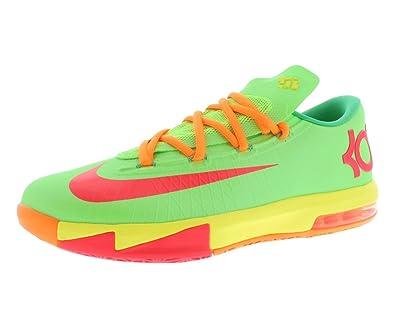 fbe5b4ab3d5c Nike KD VI (GS) Boys Basketball Shoes 599477-300 Flash Lime 5.5 M