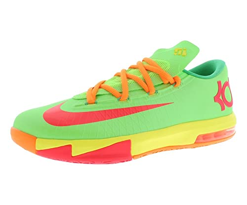 83cf72c5c692 Nike KD VI (GS) Boys Basketball Shoes 599477-300 Flash Lime 4.5 M US ...
