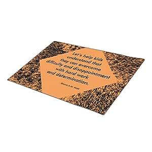 SweetyBox Custom Doormat Quote Let's Help Kids '18 x 24 Door Mat