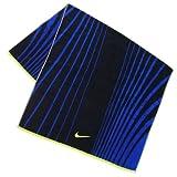 Nike Striped Jacquard Towel, Midnight Navy/Game