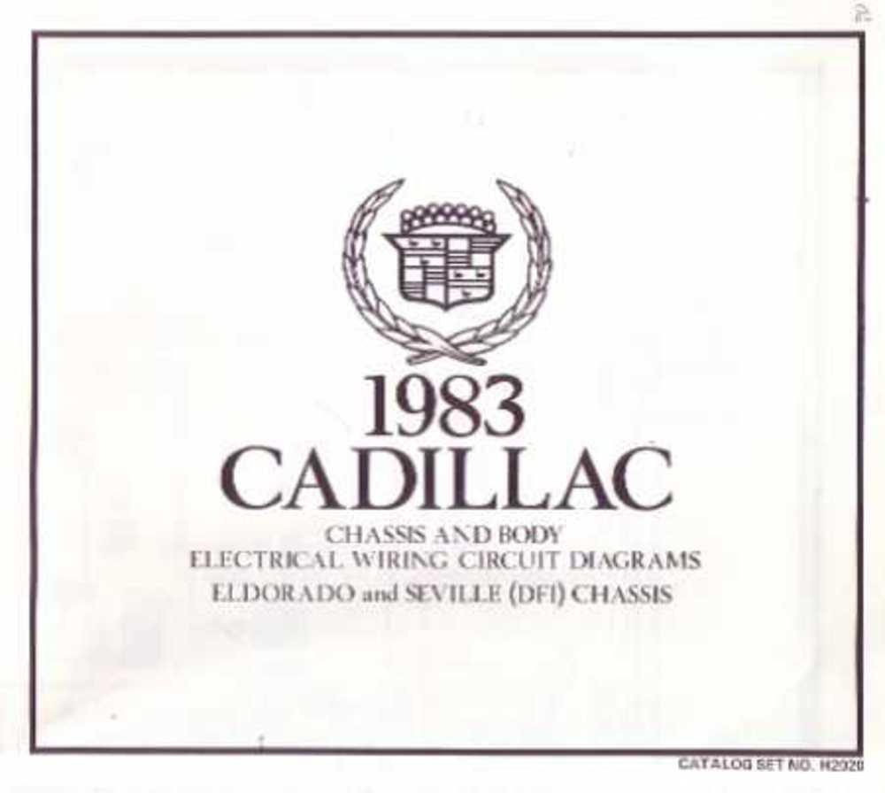 wiring diagram for 1983 cadillac seville wiring diagrams click Gucci Cadillac Seville amazon com bishko automotive literature 1983 cadillac eldorado 1983 cadillac seville red wiring diagram for 1983 cadillac seville