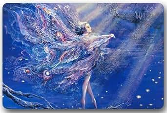 """Fashionable Design Ballerina Dancing Doormat,Indoor/Outdoor Floor Mat 23.6""""(L) x 15.7""""(W)"""
