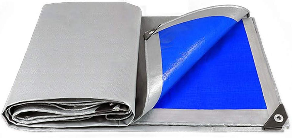 Lona Impermeable Exterior,Resistente al Agua y al desgarro Tela de Protección Solar, impermeabilizante,Golpes de toldo de Tela del Camión 160g/m² -Gris Lona de Lona Pura Gruesa