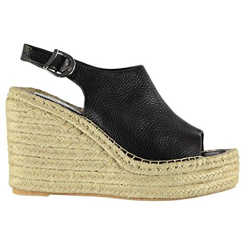 jn017 Chaussures Campbell pour Compensé Jeffrey Fashion nbsp;Talon Chaussures Noir Femme wOSUfSqaB