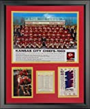 "Legends Never Die 1969 Superbowl IV Champion Kansas City Chiefs - Posed - Framed Photo Collage, 16"" x 20"""