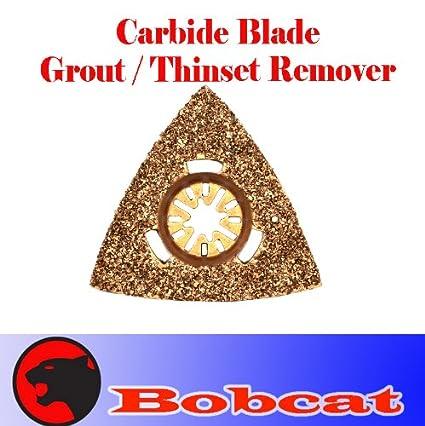 Carbide Triangular Grout Rasp Oscillating Multi Tool Saw Blades for Fein  Multimaster Bosch Multi-x Craftsman Nextec Dremel Multi-max Ridgid Dremel
