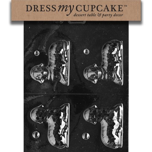 Dress My Cupcake Chocolate Candy Mold, Lamb, Easter