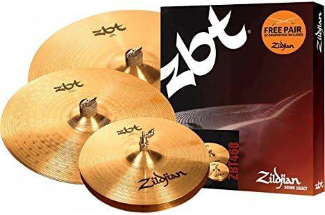 Zildjian zbt460 – Pack platillos – 8