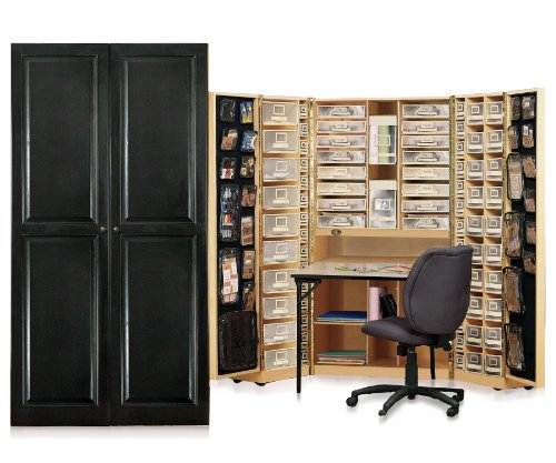 scrapbooking armoire the original scrapbox. Black Bedroom Furniture Sets. Home Design Ideas
