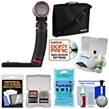 SeaLife SL677 Sea Dragon 2000F UW Photo Video Dive Light & Grip with Case + Silica Gel + Cleaning Kit