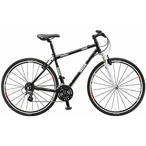 GIOS(ジオス) クロスバイク MISTRAL GRAVEL BLACK 520mm B076BLWRS2