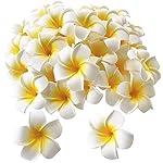 Pursuestar-100Pcs-White-Foam-Hawaiian-Frangipani-Artificial-Plumeria-Flower-Petals-Cap-Hair-Hat-Wreath-Floral-DIY-Home-Wedding-Decoration-5cm
