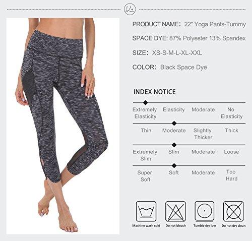 "Queenie Ke Women 22"" Yoga Capris Running Pants Workout"