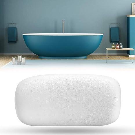 GOTOTP Almohada de bañera Suave de PU con 2 Ventosas ...