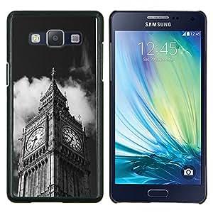 YiPhone /// Prima de resorte delgada de la cubierta del caso de Shell Armor - Arquitectura Big Ben Close Up Londres - Samsung Galaxy A5 A5000
