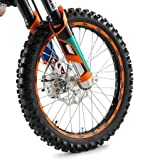 ktm rim stickers - NEW KTM RIM DECALS STICKER KIT ORANGE FITS ALL 125-530 CC 1998-2012 78009099000