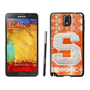 Syracuse Orange one Case 410 Samsung Galaxy Note3 Black Phone Case 410