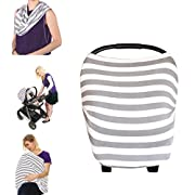 Mamkoo Nursing Cover Breastfeeding Cover Scarf Muti-Use for Baby Car Seat Cover Canopy