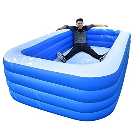 YIRUN Piscina Hinchable Rectangular Piscina Hinchable para ...