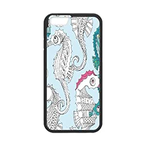 Sea Horse Unique Design Hard Pattern Phone Case Cover For Iphone Case 6 5.5 Inch HSL453618