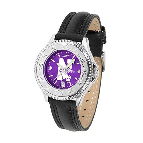 Ladies Watches Northwestern Wildcats - Northwestern Wildcats Competitor AnoChrome Women's Watch