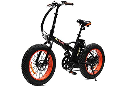 Addmotor MOTAN Electric Bicycle 2017 4 Colors Fat Tire Folding Electric Bike For Beach Snow All Terrain 500W 48V Foldaway M-150 E-Bike