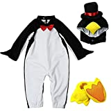 XXOO Toddler Baby Infant Cute Penguin Christmas Dress up Outfit Costume