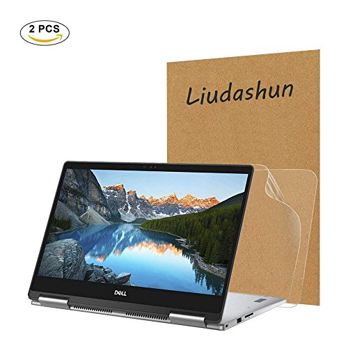 Dell inspiron 13 7373 Screen Protector,HD Clear LCD Anti-Scratch Anti-Fingerprints Guard Film For 13.3''Dell inspiron 13 7000 7373 2-in-1 Laptop (2-pack) by Liudashun