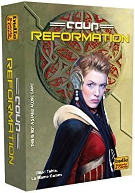 Publisher Services Inc (PSI) Juego de expansión Reformation para Coup de Indie Board & Card, Segunda edición: Amazon.es: Juguetes y juegos