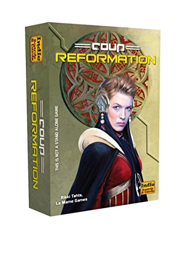 Coup Reformation (an expansion) (Revolution Card Game)