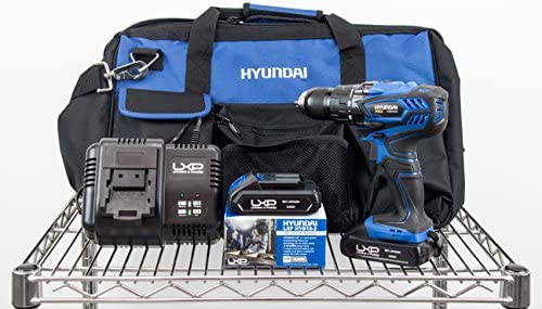 Kit Hyundai - HY-COMBO-1-1 - Taladro Atornillador 18V + 2 ...