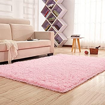 Noahas Super Soft 4.5cm Thick Modern Shag Area Rugs Fluffy Living Room  Carpet Comfy Bedroom Part 48