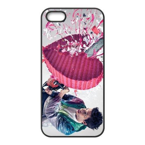 Example 003 coque iPhone 5 5S cellulaire cas coque de téléphone cas téléphone cellulaire noir couvercle EOKXLLNCD23605