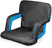Picnic Time Portable Ventura Reclining Seat, Waves Collection