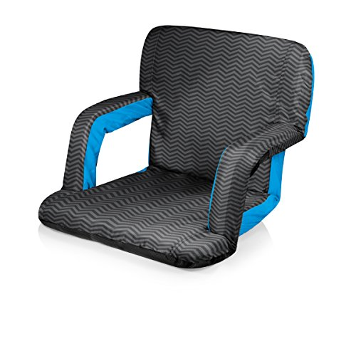 Picnic Time Portable 'Ventura' Reclining Stadium Seat, Waves Collection