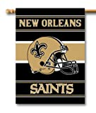 NFL New Orleans Saints 2-Sided 28-by-40-Inch House Banner