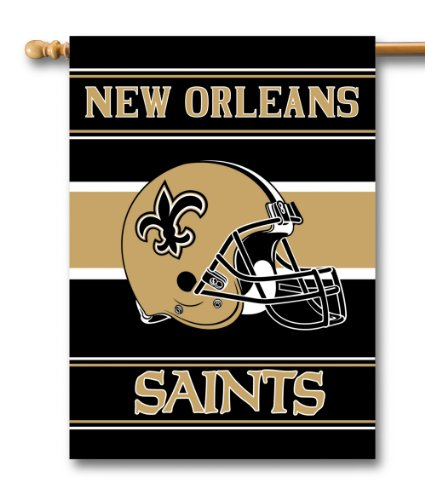 NFL New Orleans Saints 2-Sided 28-by-40-Inch House - Malls Anaheim