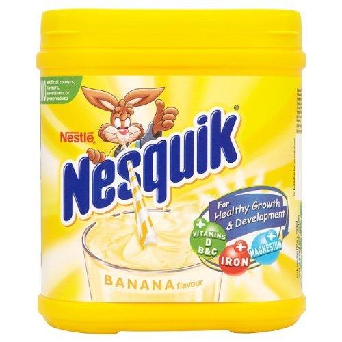 Nestle Nesquik Banana Milkshake Mix Tub - Banana Nesquik