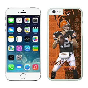 NFL ClevelandBrowns Colt McCoy White 4.7 inches63805_54178 iphone 6 cover