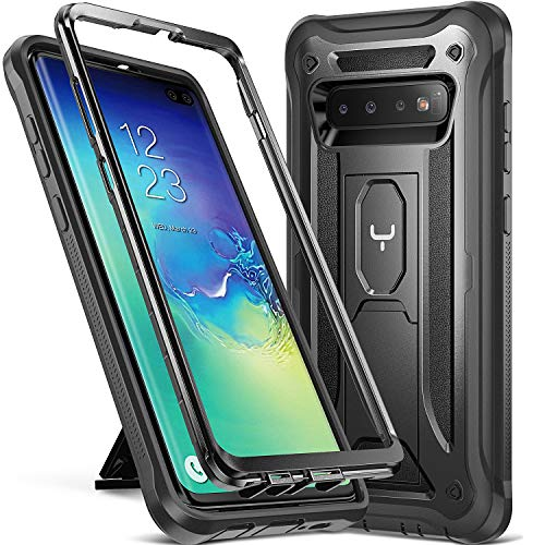 YOUMAKER Case for Galaxy S10+ Plus, Heavy Duty...