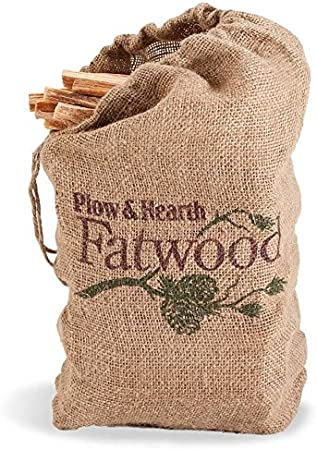 Amazon.com: Fatwood Fire Starter, 12 lb. Bolsa: Home & Kitchen