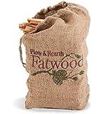 Fatwood Fire Starter, 12 lb. Bag