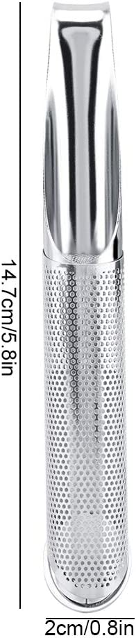 Infusores de t/é de 2 piezas para t/é suelto colador de t/é de acero inoxidable bola de t/é