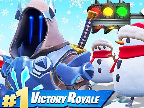 Clip: Sneaky Snowman Red Light, Green Light