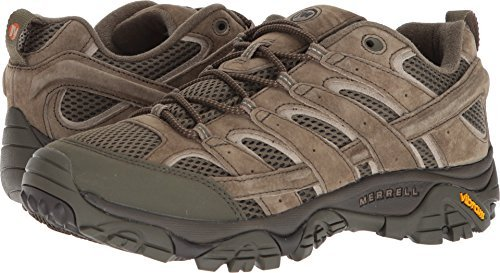 Merrell Men's Moab 2 Vent Hiking Shoe (13 D(M) US, Dusty Olive)