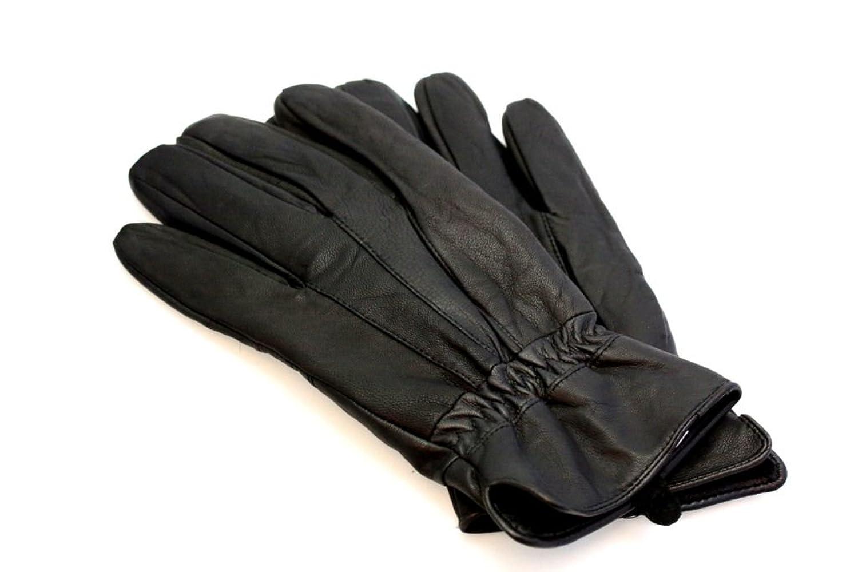 Hochwertige Herren Leder Handschuhe in Schwarz - Perfekt für die Kalte Jahreszeit