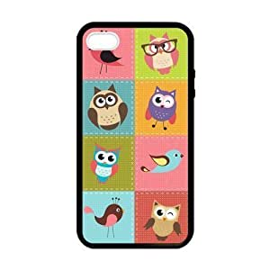 Pink Ladoo? Custom Hipster Funny Owl Personalized Custom Hard Case for iPhone 4 4s Durable Case Cover by runtopwell