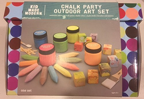 Chalk Party Outdoor Art Set - Art Party Outdoor