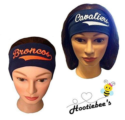 Custom Embroidered Headband (Volleyball, Tennis, Softball) ()
