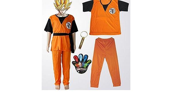 [Salida] Dragon Ball Goku Gohan Ninos Cosplay (L: 120cm-130cm): Amazon.es: Juguetes y juegos